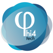 Phi 4 technology logotipo